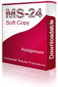 MS-24 Solved Assignment Employment Relations