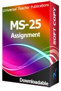 MS-25 Solved Assignment Managing Change in Organizations