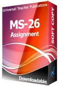 MS-26 Solved Assignment Organizational Dynamics