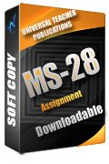 MS-28 Solved Assignment Labour Laws