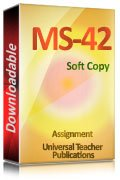 MS-42 Solved Assignment
