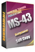 MS-43 Solved Assignment