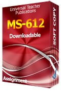 MS-612 Solved Assignment Retail Management