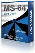 MS-64 Solved Assignment