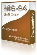 MS-94 Solved Assignment Technology Management